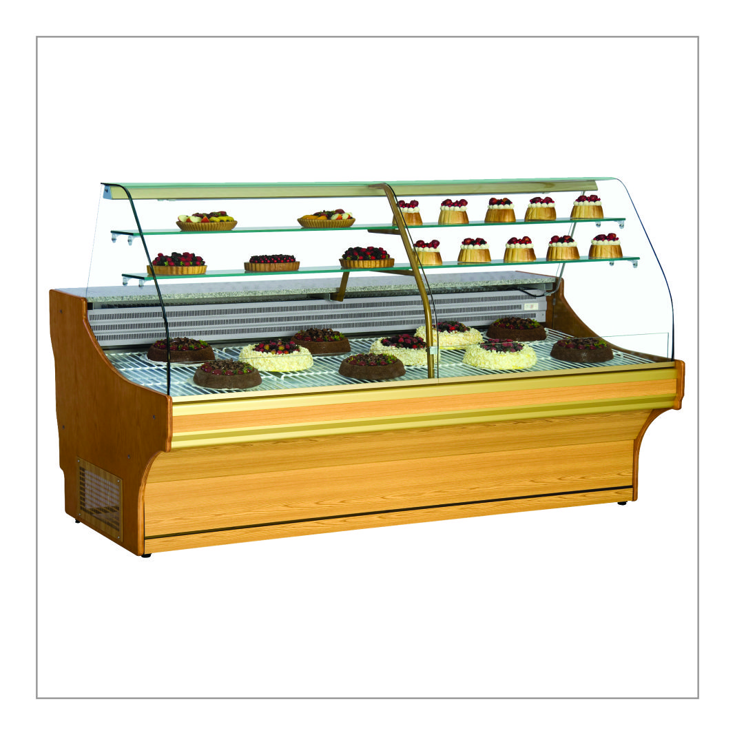 Pastry Shop Display Counter