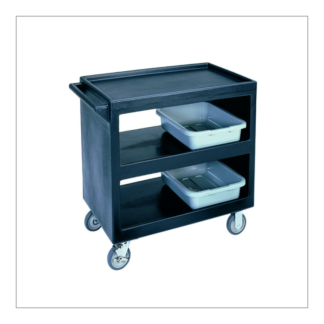 Two Shelf Cleaning Trolley
