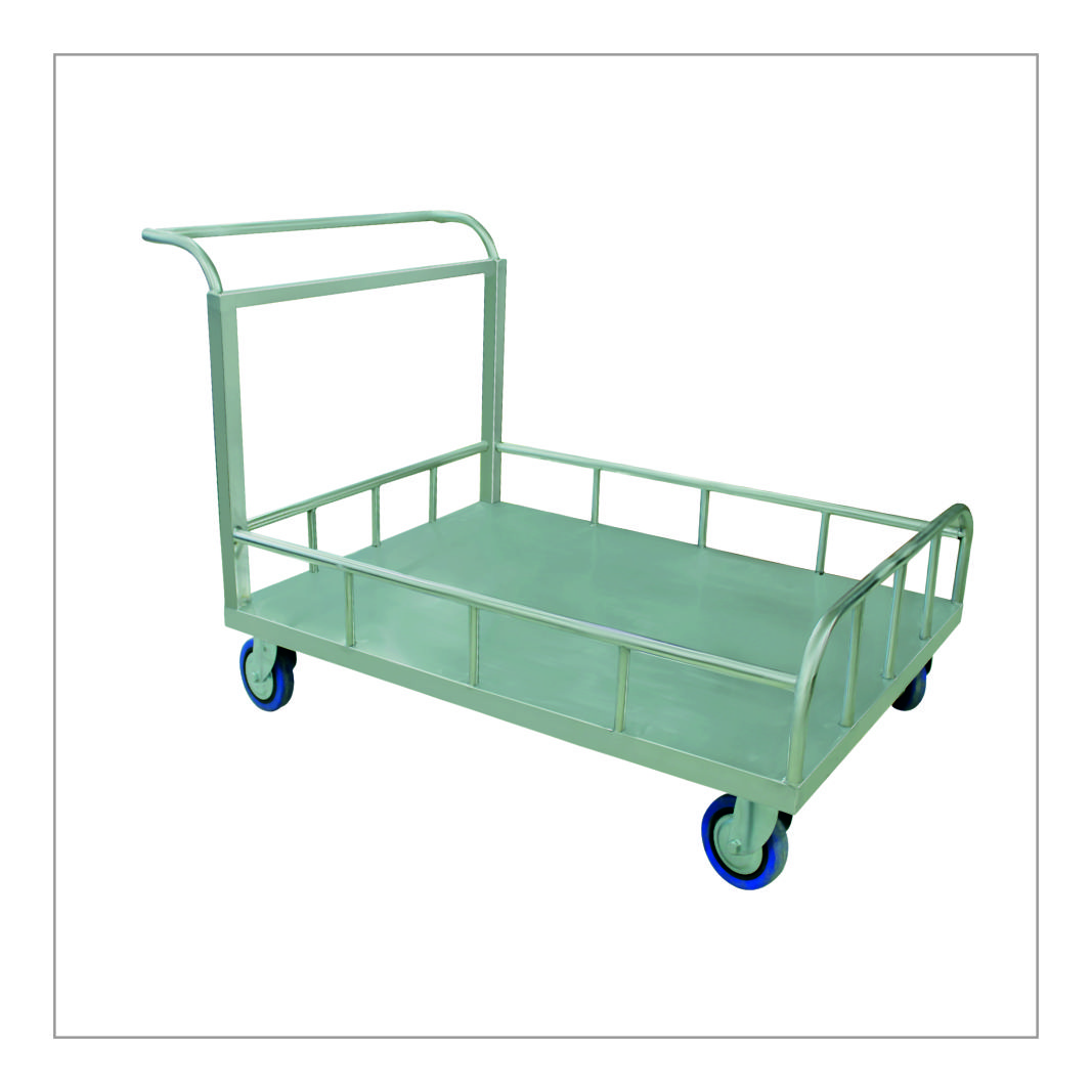 Vessel Trolley with Rail