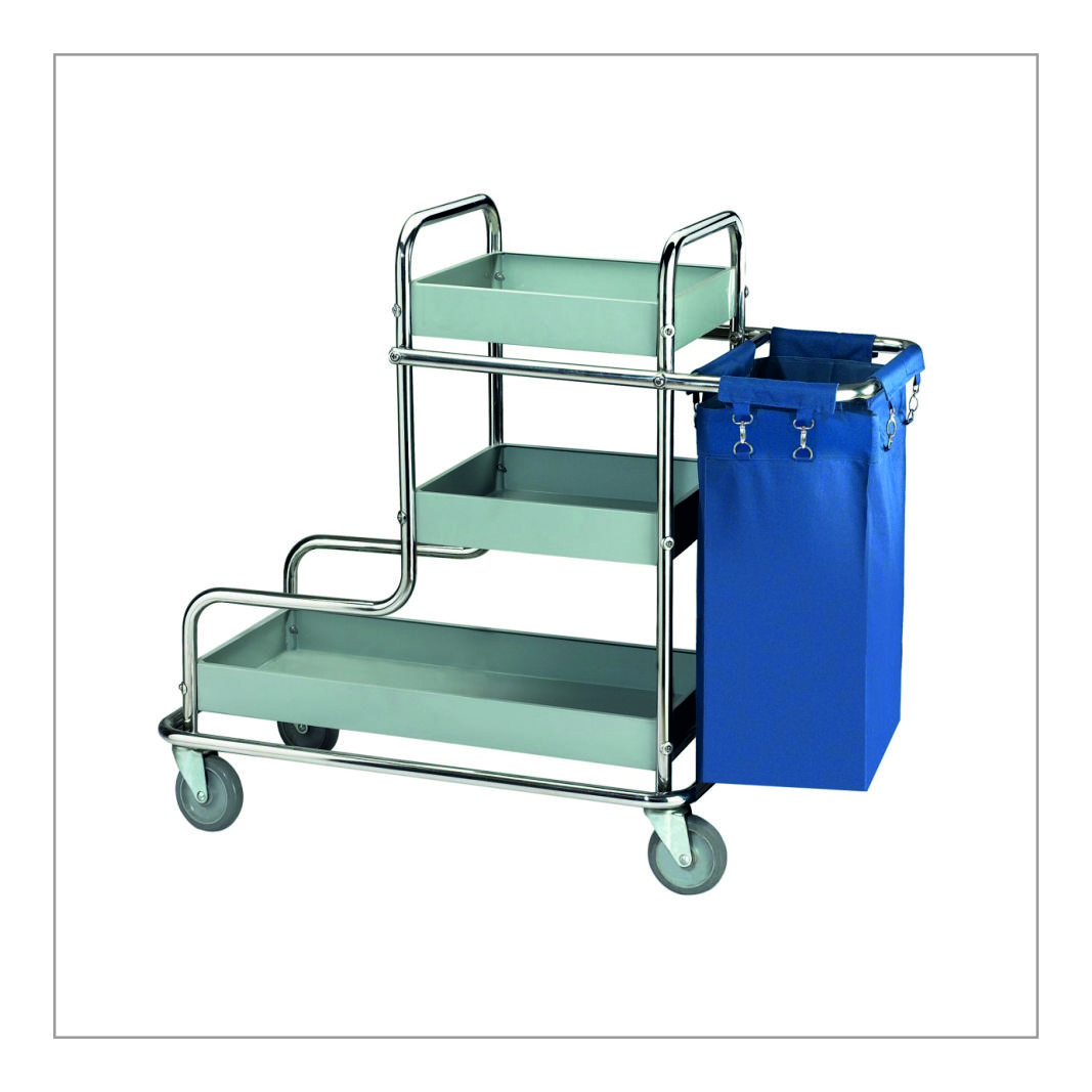 Waste Collecting Trolley