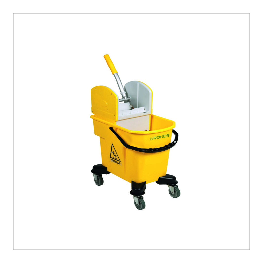 Floor Cleaning Trolley Single
