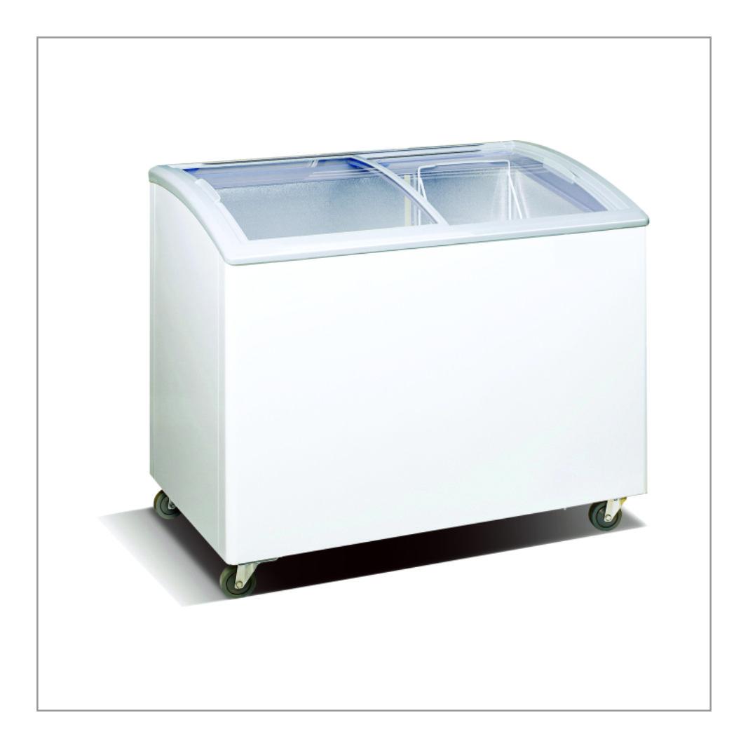 Glass Top Freezer