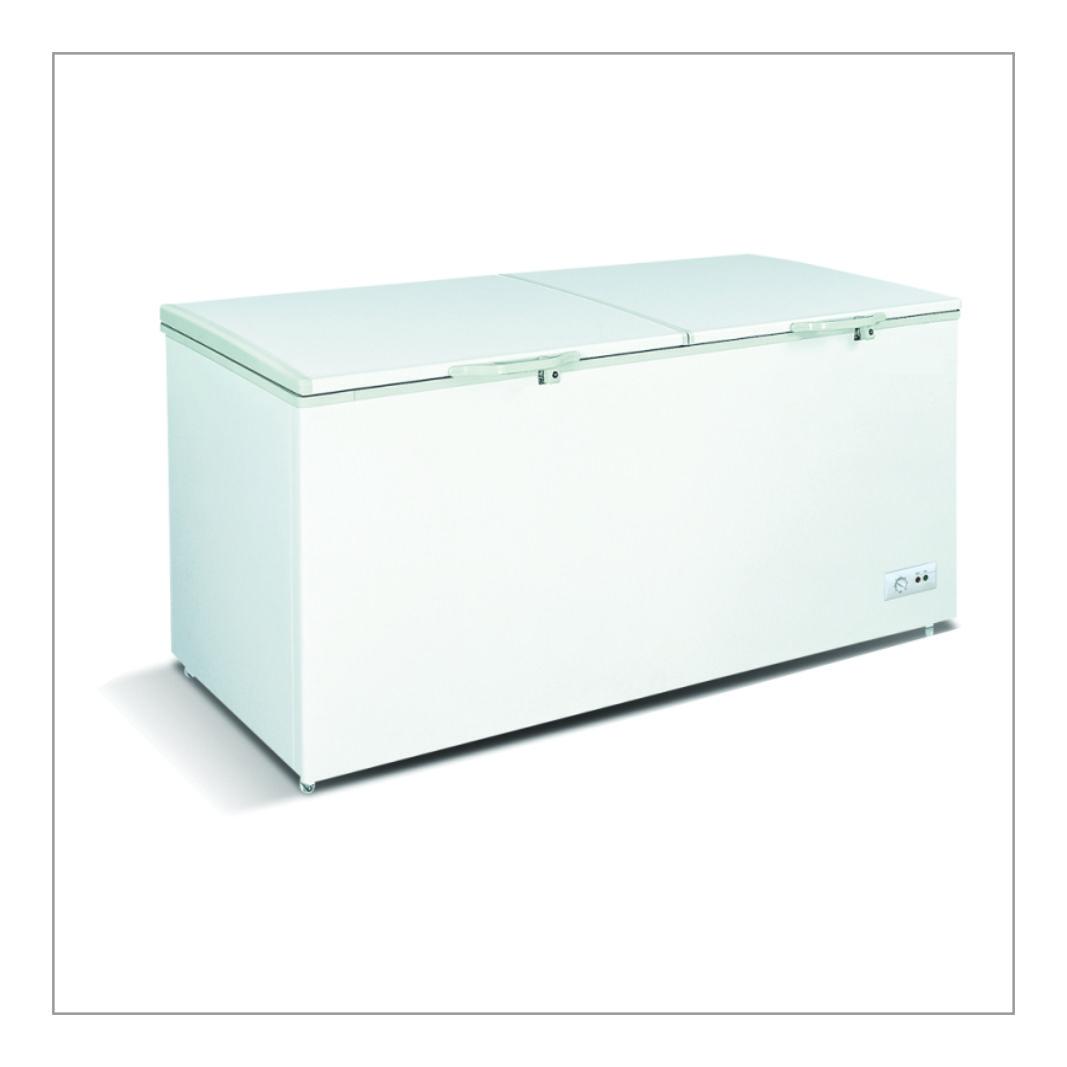 Top Double Door Freezer