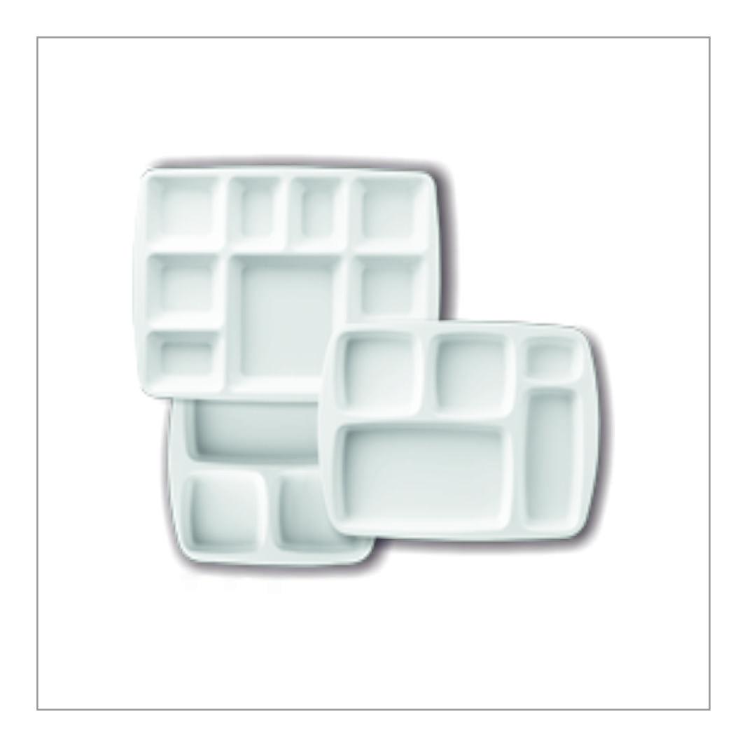 Melamine Partition Plates