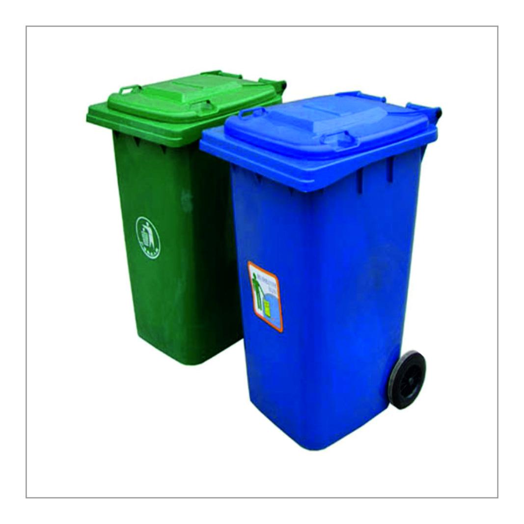 Open Top Trash Bin