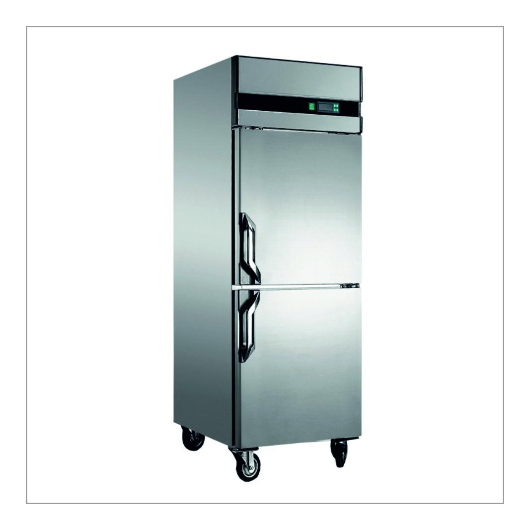 SS Double Door Freezer